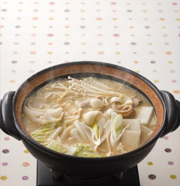 野菜たっぷり豆乳鍋