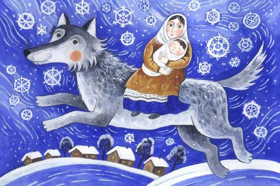 Daria Gerasimova. Winter Wolf
