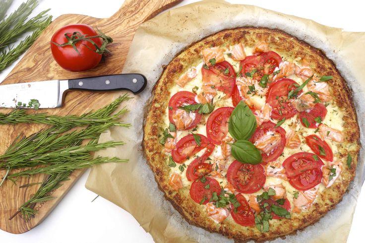 Glutenvrije pizza - Wie zegt er dat pizza's niet gezond kunnen zijn? Als je de bodem minder zwaar te verteren maakt en lekker allemaal verse ingrediënten ge