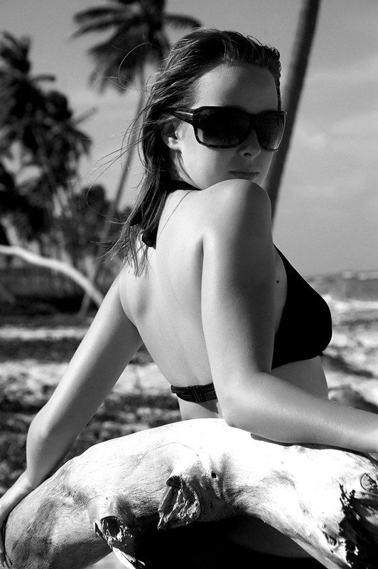This was a photoshoot I did in the Caribbean with a local photographer.