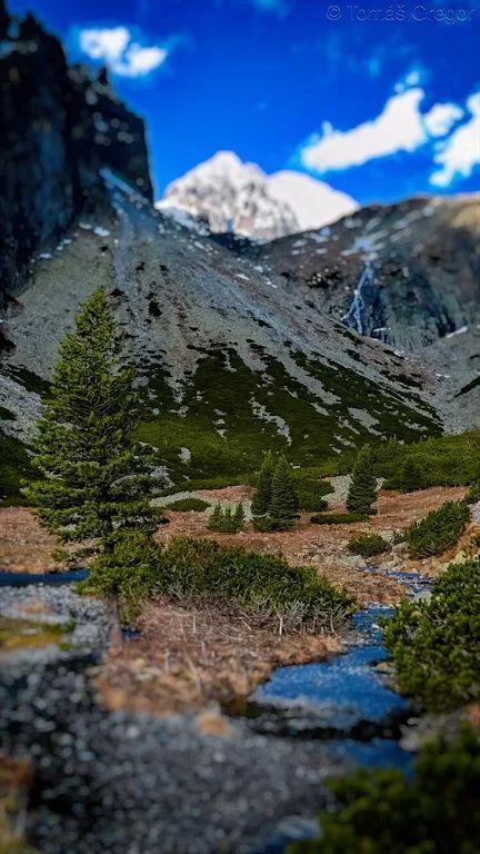 Fotka: V Malej Studenej doline, High Tatras, Slovakia