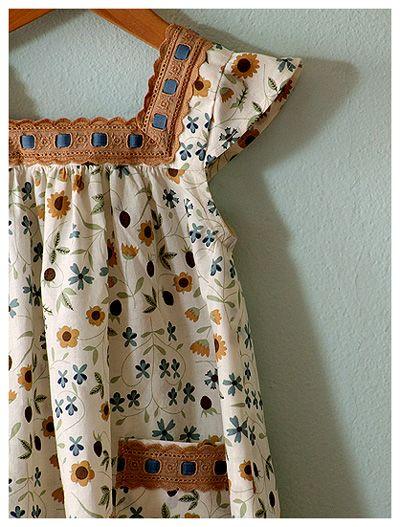 forest flower dress