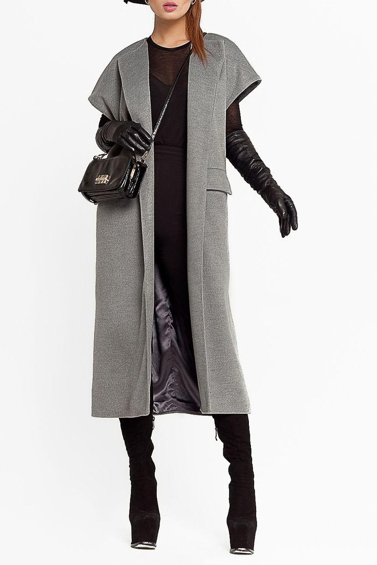 Бренд: BEZKO. Описание: пальто без рукавов и застежки сейчас на пике…