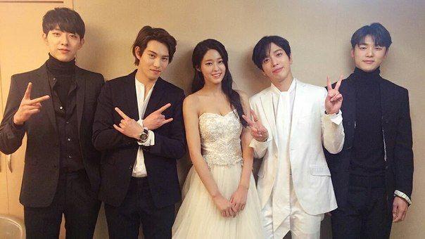 #CNBLUE and AOA SeolHyun