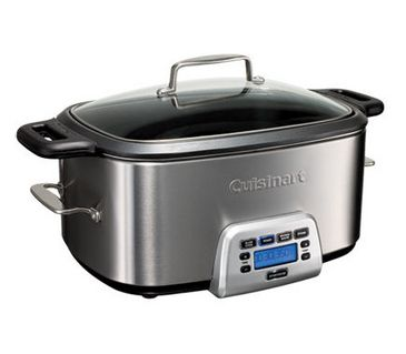 Slow cooker that has the ability to sear and brown food. $200