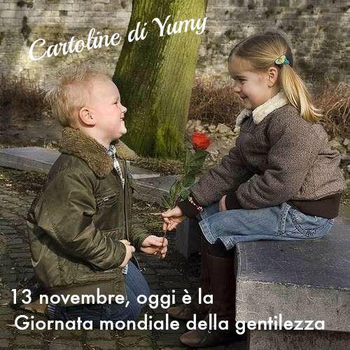 13 novembre, oggi è la Giornata mondiale della gentilezza