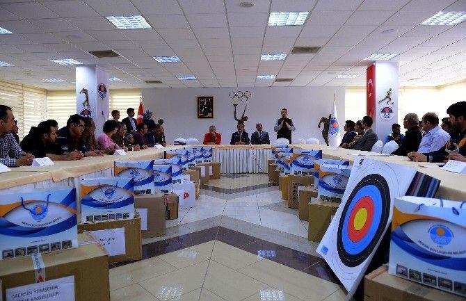 Mersin Büyükşehir'den Engelli Spor Kulüplerine Malzeme Yardımı | YAŞAM