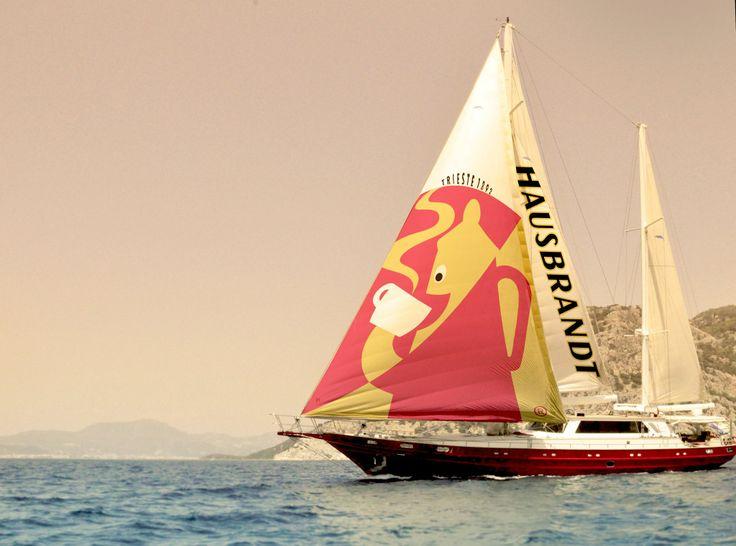 A ship sponsored by Hausbrandt