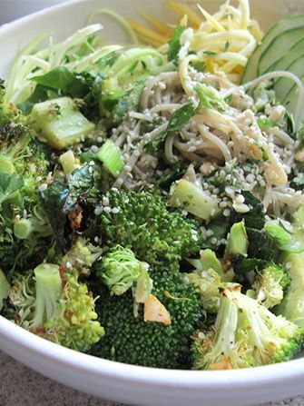 The yummiest, easiest, green meal you can make for lunch