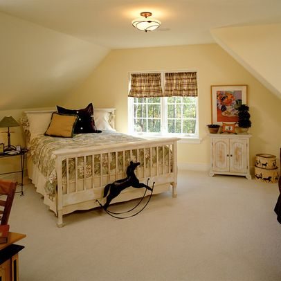 Attic Master Suite Angled Ceilings Slanted Walls