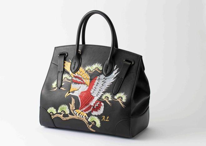 ラルフ ローレンのアイコンバッグにイーグルデザイン登場 スカジャンがヒントに | Fashionsnap.com