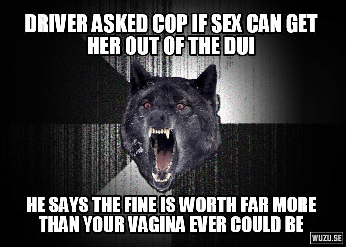A drunk college girl crashed into my car during lunch...