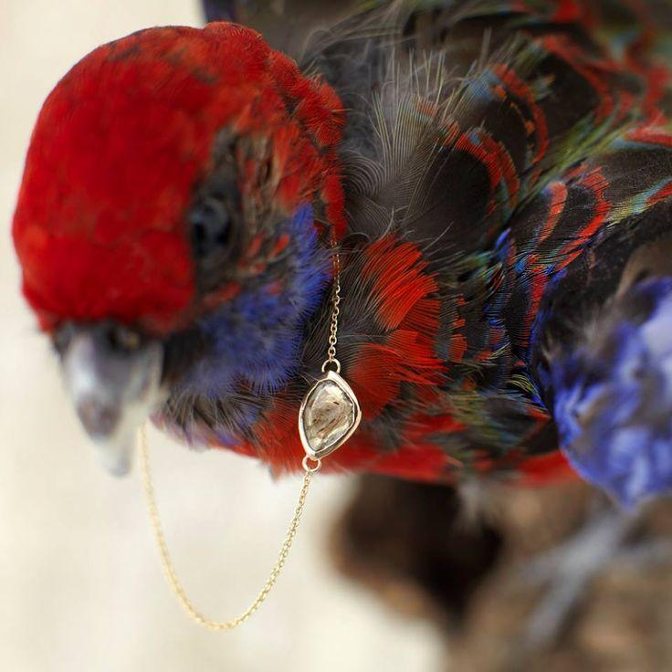 The Polki Bracelet to accompany the gorgeous  Polki Diamond Ring from Black Betty