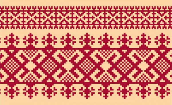 Russian Embroidery Ornament