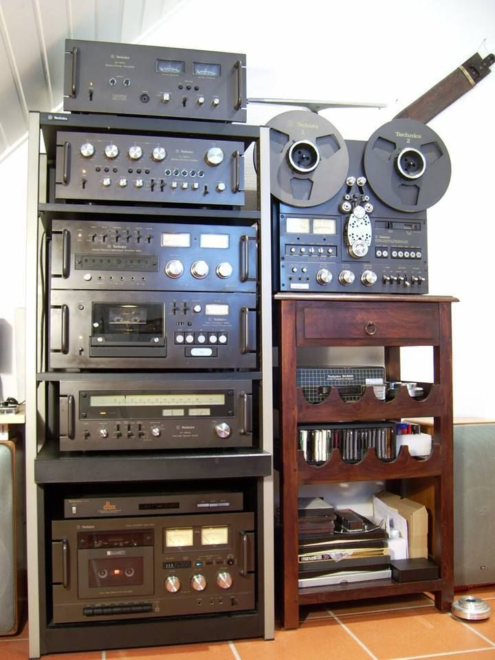 Technics Dream System from the late 1970s still like the old style separates, think they're still cool...