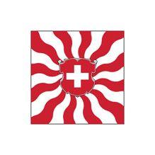 Flame Flag of Switzerland.