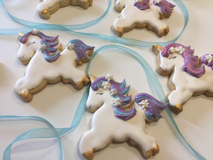 Unicorn 🦄 cookies by Vanilla Rose Cakery