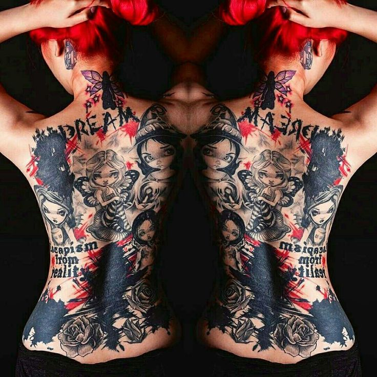 17 Best Images About Tattoos On Pinterest: 17 Best Images About Tattoos And Wild Color Hair On