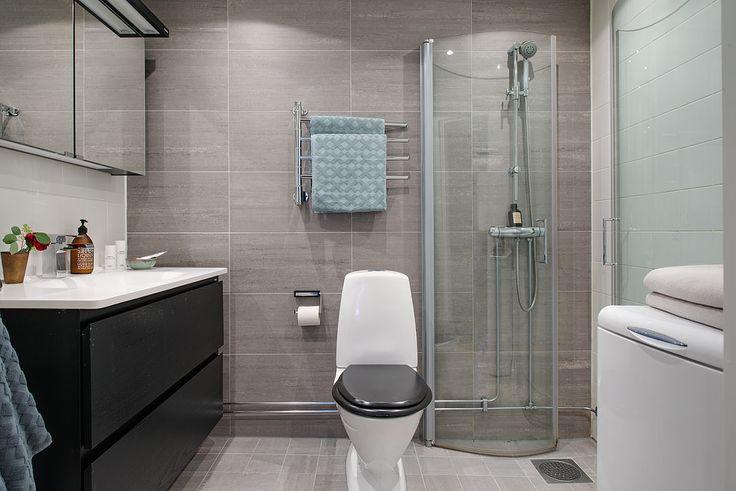 Серая плитка в ванной комнате: особенности, фото-7