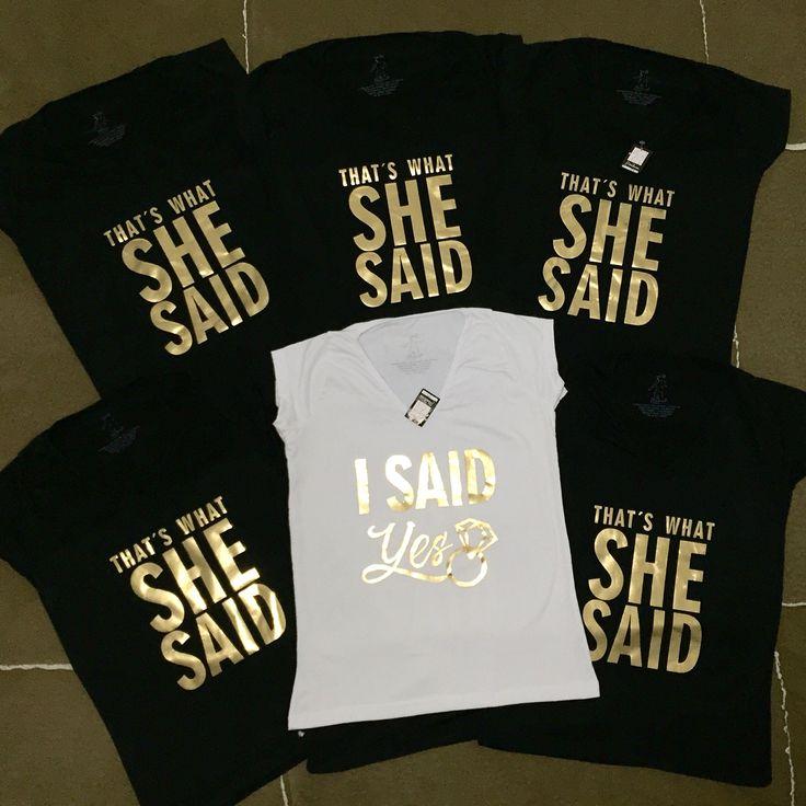 Camisetas personalizadas - despedida de soltera
