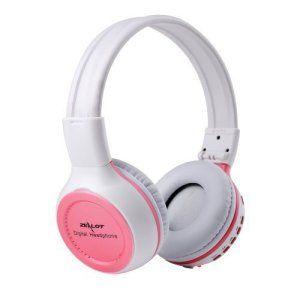 Patuoxun Casque audio sans fil/Casque stéréo sans fil numérique Lecteur MP3 SD/ TF Radio FM Musique/charge de la batterie-led écran/Hi-Fi…