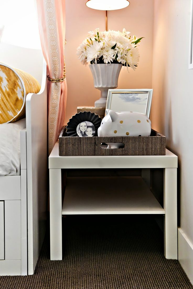 a teen bedroom in peach mustard design dump orc finale ikea lack table