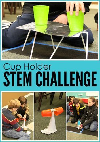 Cup Holder STEM Challenge