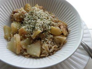 High Protein Oatmeal www.mycanadiankitchen.ca
