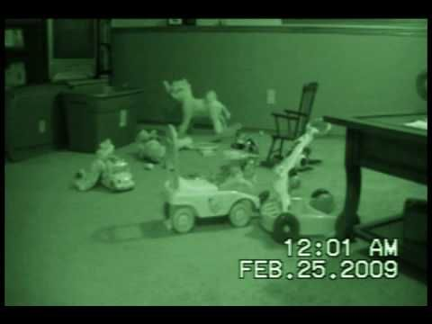 Ghost Children in our Basement Caught on Tape