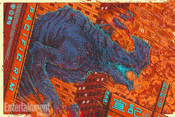 Pacific Rim Poster by Ash Thorp for Mondo SDCC