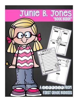 "FREE!  Junie B. Jones ""Book Buddy"" {No Prep Reading Response Graphic Organizers}"