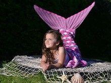 Meerjungfrauen-Decke häkeln ++ Maryell ++ alle Größen und 4 Varianten