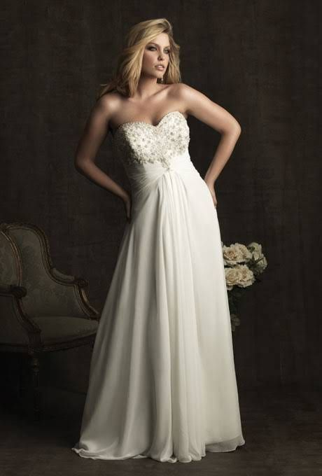 Plus-Size Wedding Dresses : Brides.com