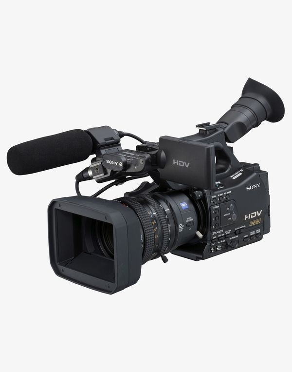 Sony Hvr Z7u 1080i Hdv Camcorder With All The Accessories For Sale