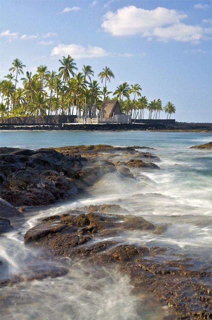 Pu'uhonua o Honaunau National Historic Park, Hawai'i