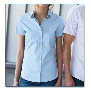 SeaHorse-Collection, women's short-sleeve shirt, 49,99€