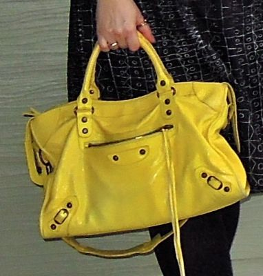 my yellow balenciaga :)