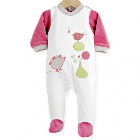 Adoptez ce petit hérisson avec ce pyjama bébé fille tendance et trop mignon !