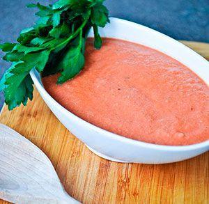 Mayonesa de ajo y pimientos de piquillo