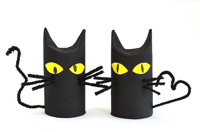Black Cat Toilet Paper Rolls