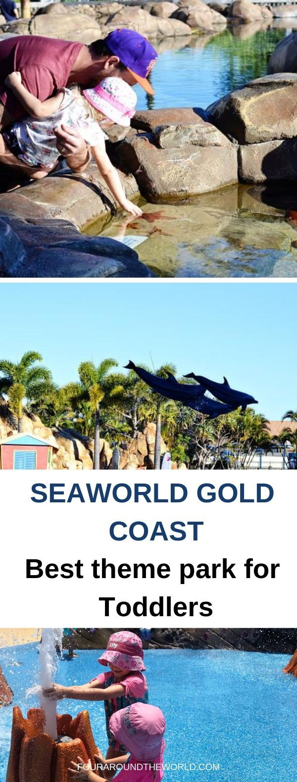 Seaworld Gold Coast The Best Theme Park For Toddlers Family Travel Usa Sea World Gold Coast Theme Parks