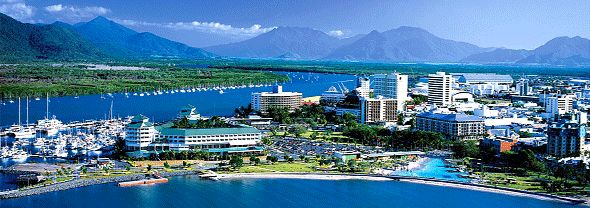 Cairns, lived here for 3 months, whats not to like!