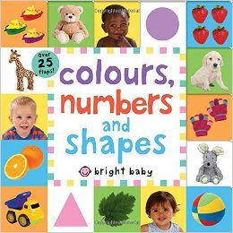 Introduces three key first concepts: letters, number and colors.  Helps babies and toddlers to build their early vocabulary, and has large, colourful and sturdy format to withstand repeated learning fun