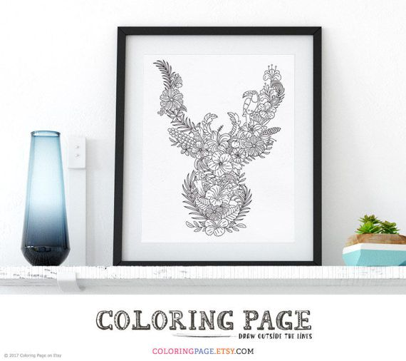 3807 Best 4 Adult Coloring Pages Instant Download