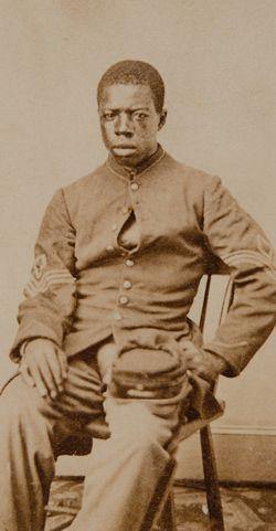 1st Sgt. James W. Bush, Co. K - 54th Massachusetts Volunteer Infantry