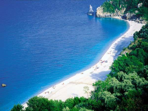 Agioi Saranta Beach! Pelion, Greece