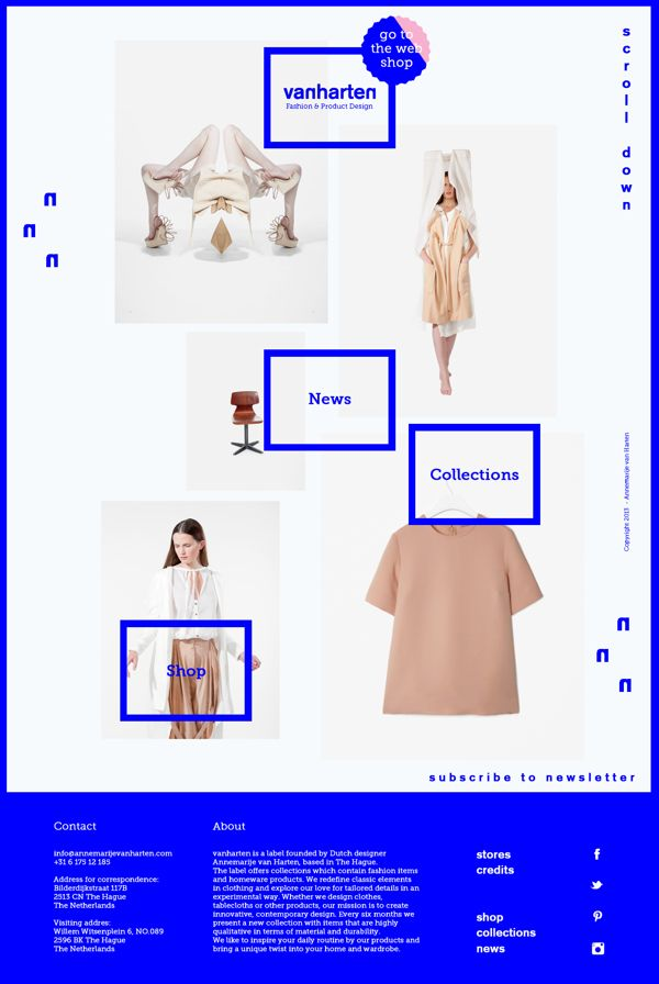 Vanharten by Elisabeth Enthoven, via Behance | See more about behance, product design and web design.