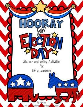 This is a great way to introduce the little guys to the voting process. Love it! $