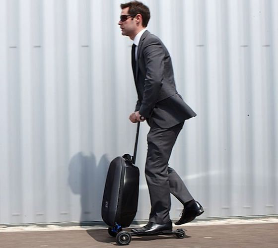Micro Luggage #Scooter – http://thegadgetflow.com/portfolio/micro-luggage-scooter-250/