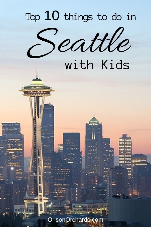 Are You Heading To Seattle With Kids In Tow I Can Help You Out